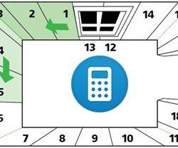Калькулятор обоев на комнату онлайн
