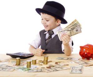 Учим ребенка правильному отношению к деньгам