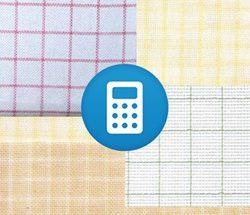 Калькулятор ткани ЛЁН для вышивки