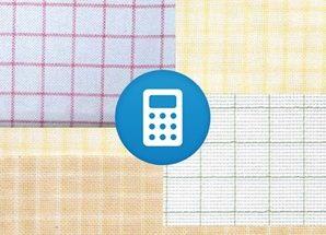 калькулятор ткани вышивки крестом