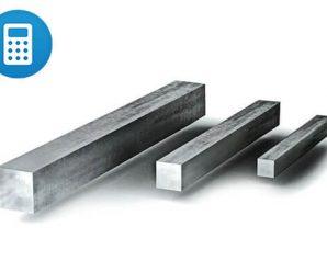 квадрат металл расчёт веса