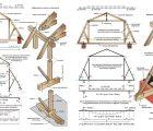 Расчет мансардной крыши: онлайн калькулятор с чертежами стропильной системы